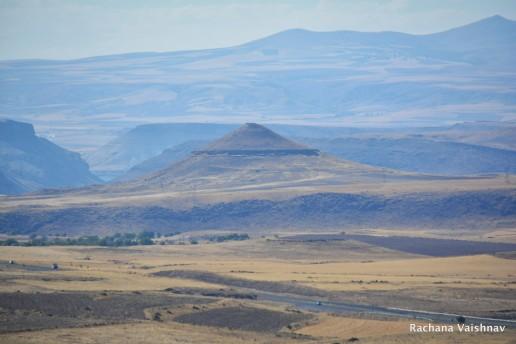 The vastness of landscape