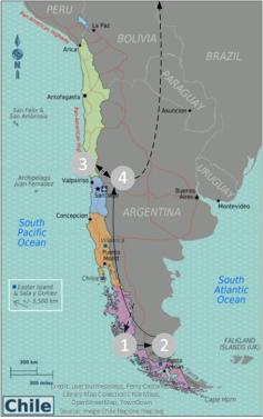 Chile_Route_map