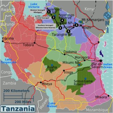 Tanzania_road_map