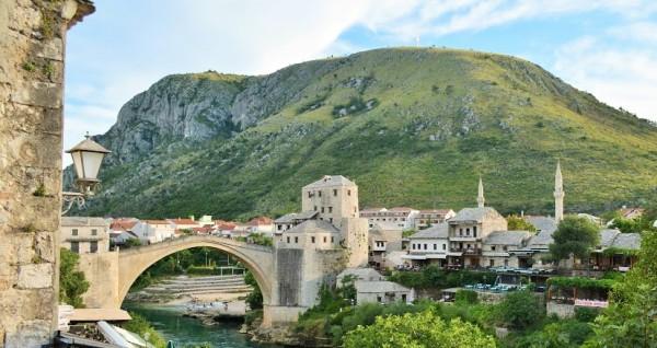 stari most mostar arch bridge