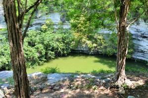 Cenotes near Chichen Itza