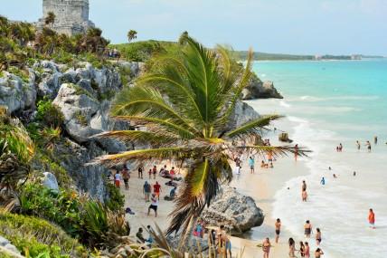 Tulum Castillo beach